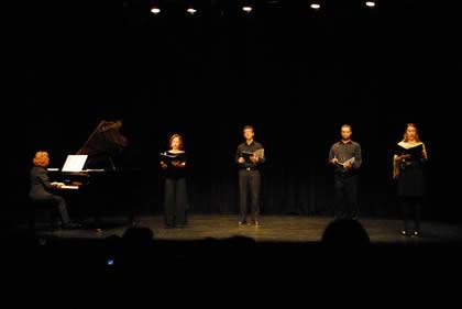 Recital de alunos de canto