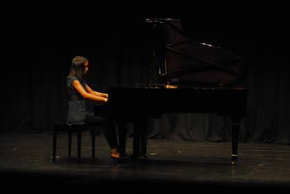 Recital de aluno de piano